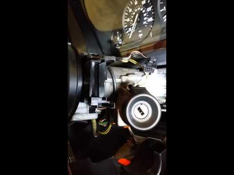 BMW wiper switch removal e39 pre 3/99