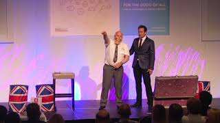 Steve Hewlett with Special Guest Jim McCormack at the Scottish Bakers Conference 2018