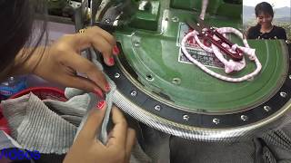 Cambodia Garment Factory | Garment Manufacturing Process | Sweater Linking