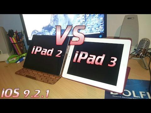 iPad 2 V S iPad 3 (iOS 9.2.1)