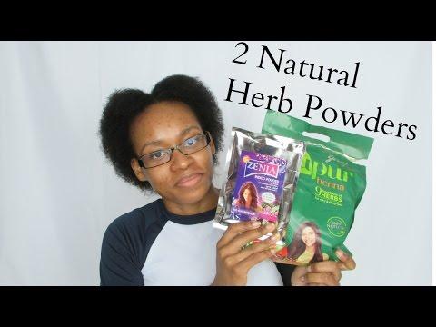 Herbal Hair Treatment with Henna & Indigo leaf Powders