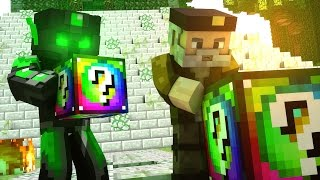 LUCKY BLOCKS MAYA! | Willyrex vs sTaXx - Carrera épica Lucky Blocks - MINECRAFT
