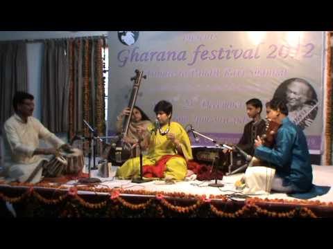 Gharana Festival 2012 by Tanuja Nafde on vocal