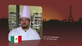 Watch Luis Robledo from Mexico prepare for the World Chocolate Masters Final 2011