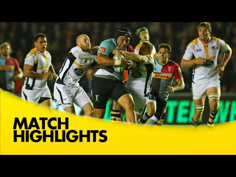 Harlequin Vs Wasps - Aviva Premiership 2015/16