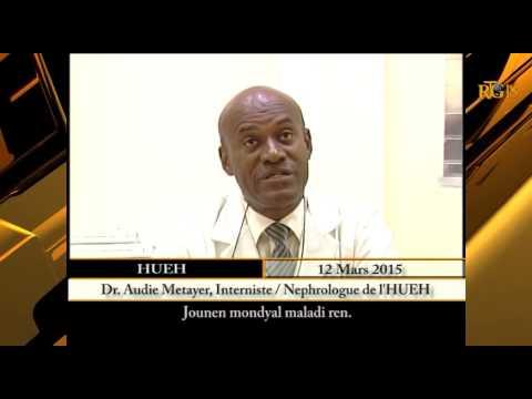 L'Hôpital Université d'État d'Haïti commémore la ''Journée mondiale de la maladie du rein''..
