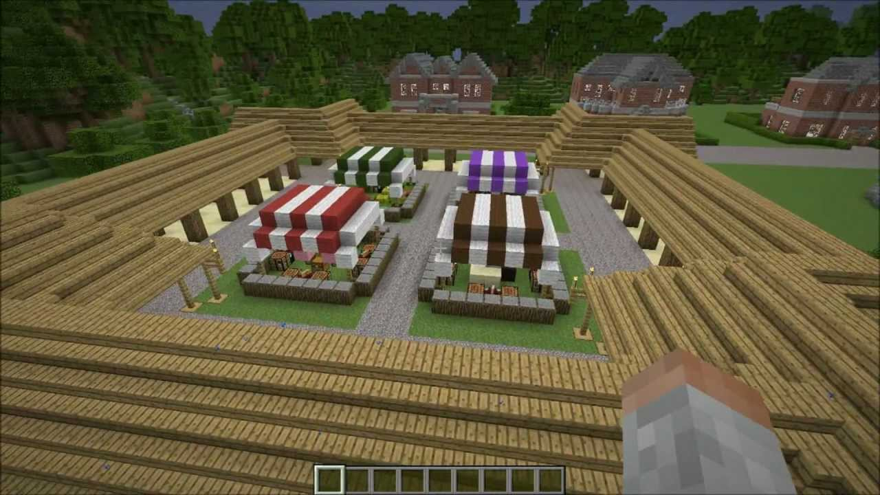 how to create a market stall