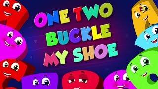 một hai khóa giày của tôi | ươm vần | số cho trẻ em | số từ 1 đến 20 | One Two Buckle My Shoe