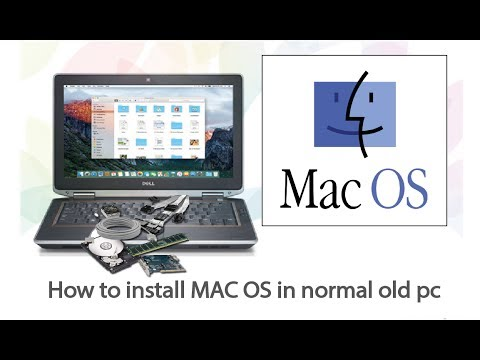 install Mac OS on PC or laptop or vmware 100% working 2017