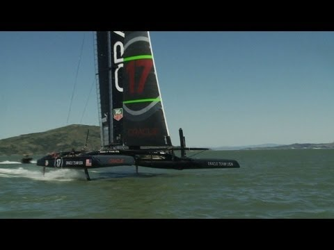 Oracle in last stretch of America Cup training