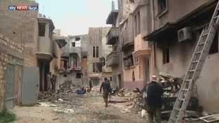 الألغام.. عدو سكان بنغازي