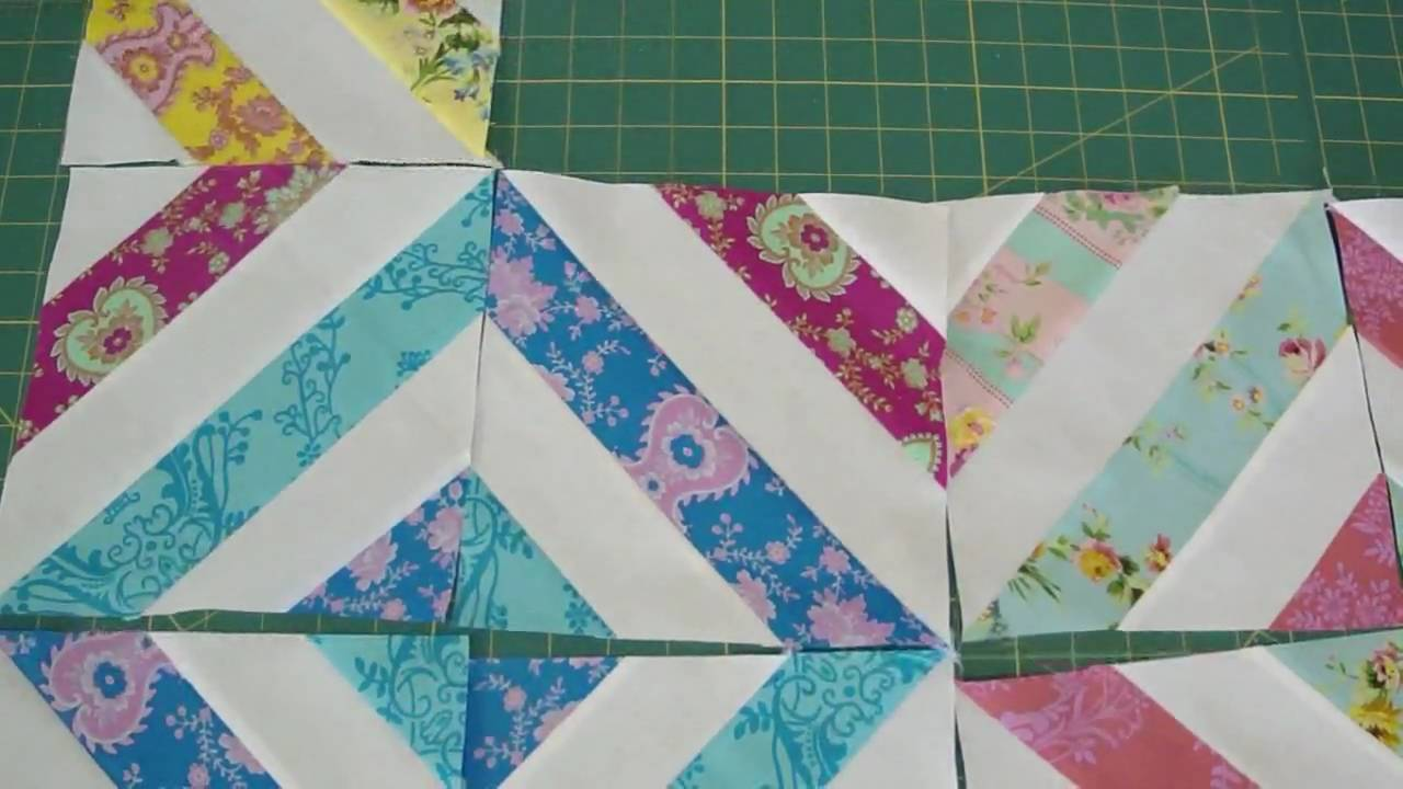 Make A Quot Summer In The Park Quot Quilt Using Jelly Rolls Youtube