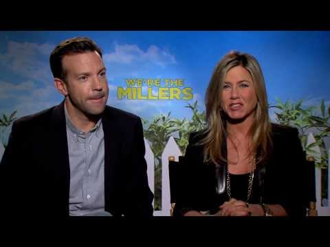We're The Millers (2013) Jennifer Aniston & Jason Sudeikis Interview [HD]