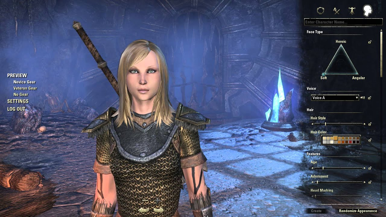 The Elder Scrolls Online Sexy Female Character Creation