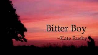 Watch Kate Rusby Bitter Boy video