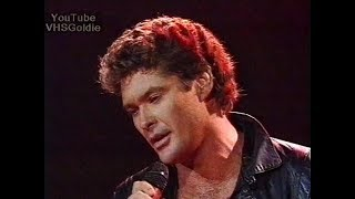 Watch David Hasselhoff Flying On The Wings Of Tenderness video