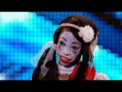 Geisha Davis Possesses The Britain's Got Talent 2012 Judges! video