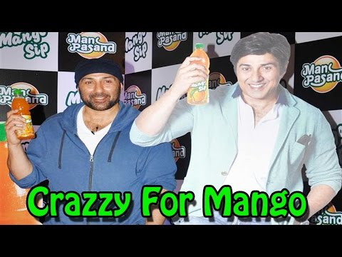 """""""ghayal Once Again"""" Actor Sunny Deol Launches Manpasand Juice"""