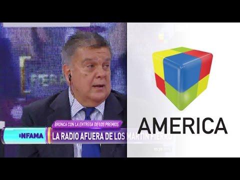 Ventura explicó el porqué de la exclusión de la radio de los Martín Fierro