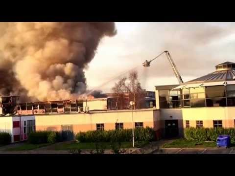 Shiney Row College on fire video 2 - YouTube SMB