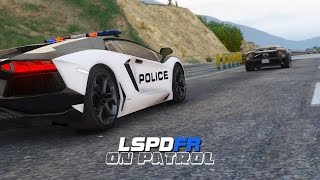 LSPDFR - Day 34 - Lamborghini Highway Patrol