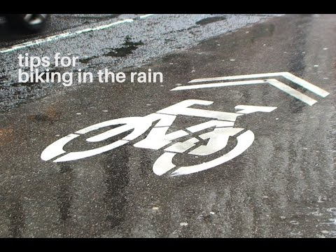 URBAN BIKING: Tips for Biking in the Rain
