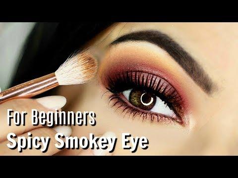 Beginner Eye Makeup Tips & Tricks   Spicy Smokey Eye Makeup