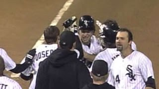 2005 ALCS Gm2: White Sox even series on Crede's walk-off