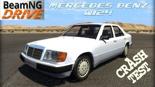 BeamNG DRIVE crash test mod car Mercedes Benz W124