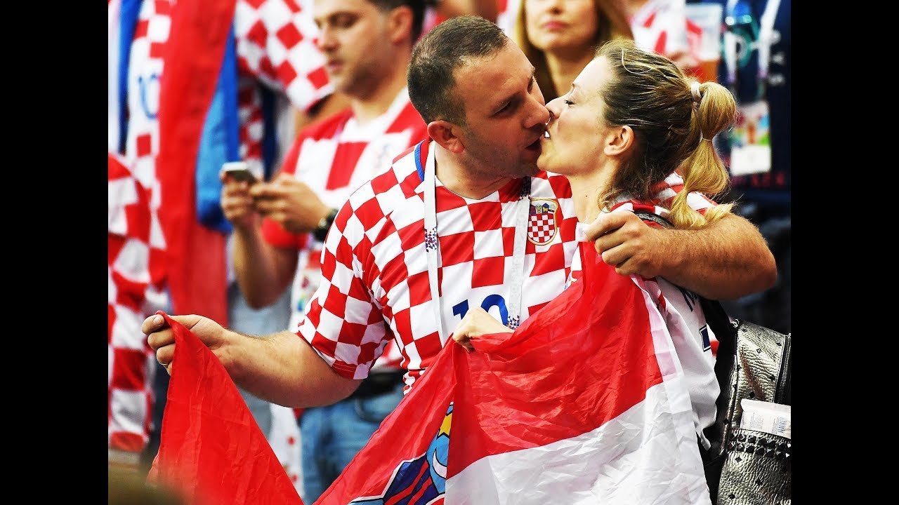 Croatia fans celebrate win vs England, maiden World Cup final entry