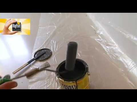 Как сделать краску магнитной своими руками