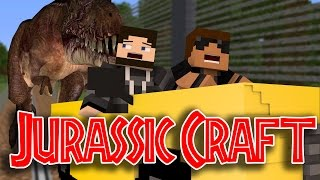 "Dinosaur Chase!! ""Jurassic World"" Ep.5 ""Jurassic Craft Roleplay"""