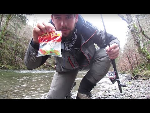 The Gummy Worm Experiment | Can You Catch A Steelhead On A Gummy Worm?