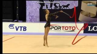 RIZATDINOVA Ganna (UKR) - 2014 Rhythmic Worlds, Izmir (TUR) Final Ribbon