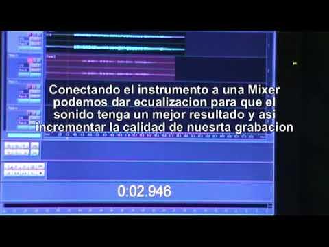 COMO CONECTAR UN INSTRUMENTO MUSICAL A LA COMPUTADORA