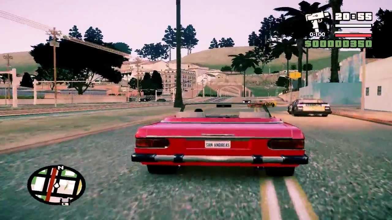 Gta 4 San Andreas Gameplay Gta iv San Andreas Beta 2