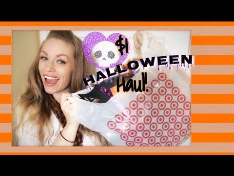 $1 Halloween Haul! Target Dollar Spot Decor & more!