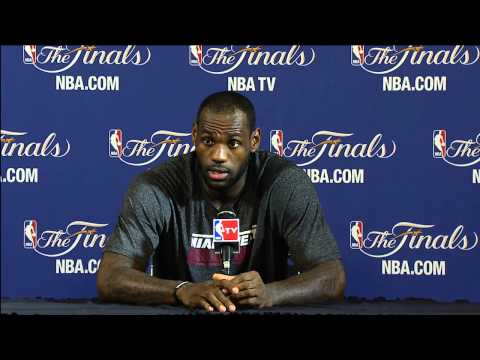 LeBron James NBA Finals Press Conference: 2007 vs 2013