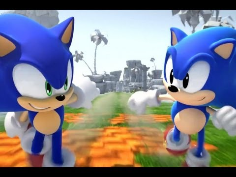 CGRundertow SONIC GENERATIONS for Xbox 360 Video Game Review