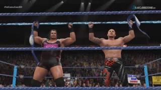 WWE Backlash 2016 - Rhyno & Salter VS The Usos (WWE SD Tag Team Championship) Match HD