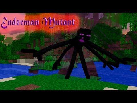 Обзор мода Minecraft Эндер Бро Мутант (EnderMan Mutant) № 38