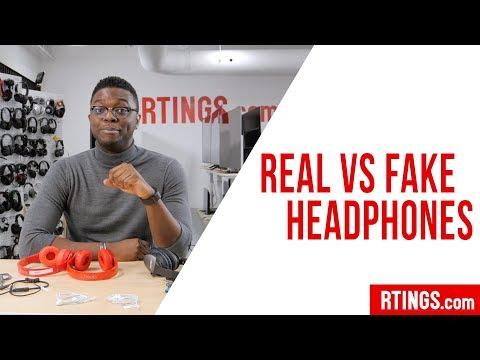 Real vs Fake Headphones Comparison - Rtings.com