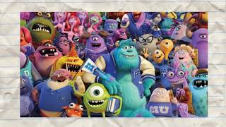 My Favorite Things Episode #5: Monsters University