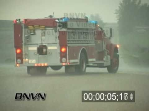 5/8/2004 Hail Video - Hail footage from Central Iowa - Stock footage