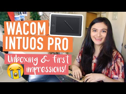 WACOM INTUOS PRO (Medium): Unboxing and First Impressions!