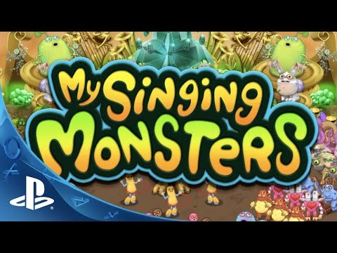 My Singing Monsters - Every Monster has a Voice Trailer   PS Vita