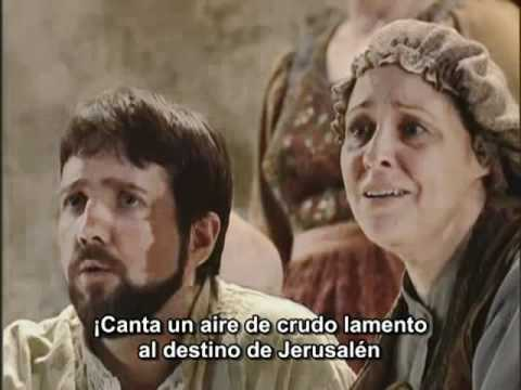 Verdi - Va Pensiero - Nabucco subtítulos español