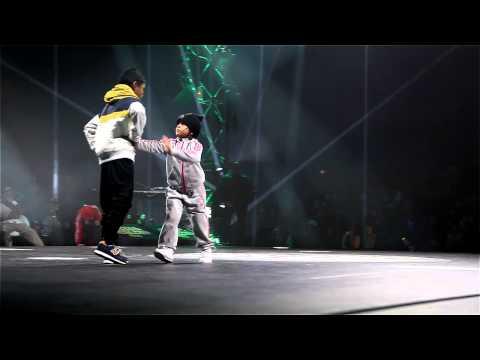 Amazing 6 year-old BGIRL TERRA VS BBOY LEELOU - Chelles Battle Pro 2013