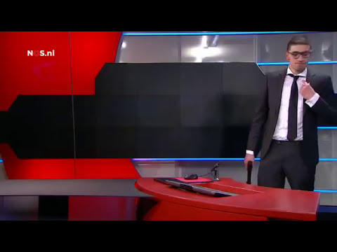 HOSTAGE SITUATION WITH GUN ON LIVE TELEVISION IN THE NETHERLANDS