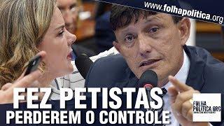 Delegado Éder diz que Lula cortou o dedo para não trabalhar e faz petistas perderem o controle